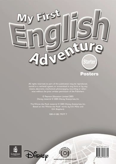 Musiol Mady: My First English Adventure Starter Posters