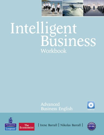 Barrall Irene: Intelligent Business Advanced Workbook w/ Audio CD Pack