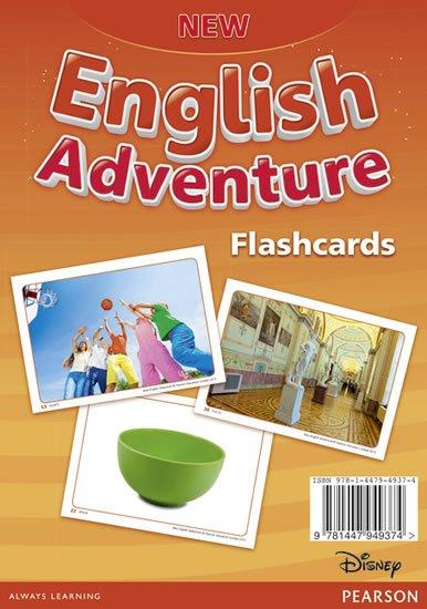 neuveden: New English Adventure 2 Flashcards