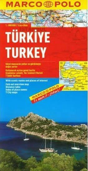 kolektiv: Turecko/mapa 1:800T