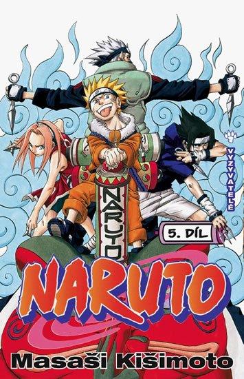 Kišimoto Masaši: Naruto 5 - Vyzyvatelé