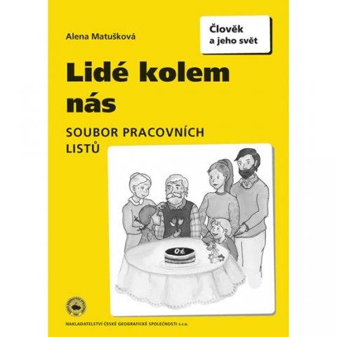 Matušková Alena: Lidé kolem nás, soubor pracovních listů