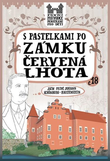 Chupíková Eva: S pastelkami po zámku Červená Lhota