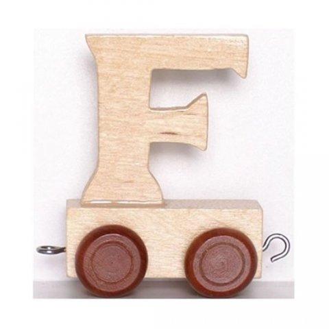neuveden: Vagónek F - hnědá kolečka