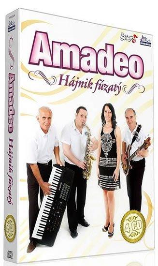 neuveden: Amadeo - Hájnik fúzatý - 4 CD