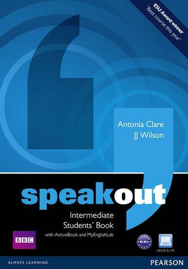 Wilson J. J.: Speakout Intermediate Students´ Book w/ DVD/Active book/MyEnglishLab Pack