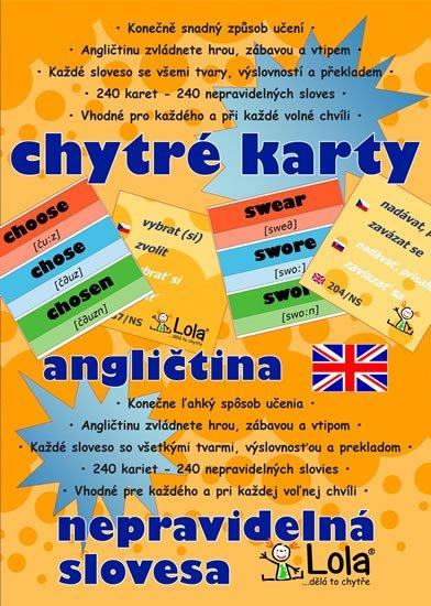 neuveden: Chytré karty - Angličtina nepravidelná slovesa