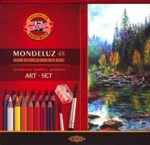 neuveden: Koh-i-noor souprava akvarelových pastelek  48 ks Mondeluz art