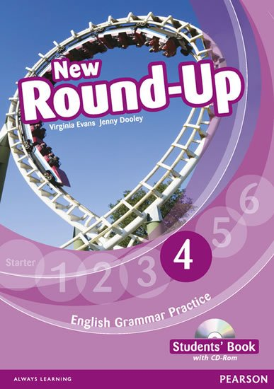 Dooley Jenny: Round Up 4 Students´ Book w/ CD-ROM Pack