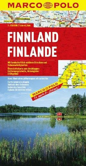 neuveden: Finsko/mapa 1:850T MD