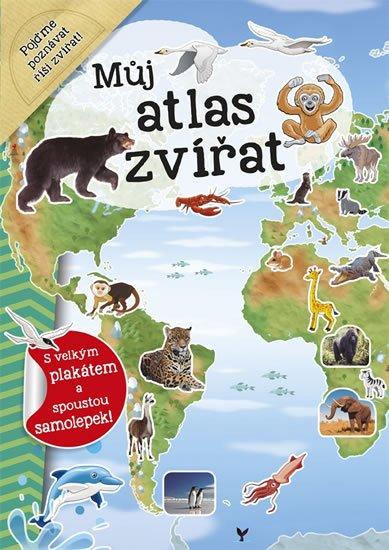 Dozo Galia Lami: Můj atlas zvířat + plakát a samolepky