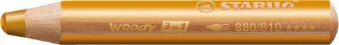 neuveden: Pastelka STABILO Woody 3v1 zlatá