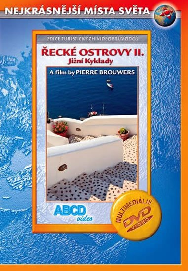 neuveden: Řecké ostrovy II. - Jižní Kyklady - Nejkrásnější místa světa - DVD