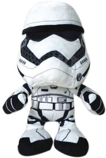 neuveden: Star Wars VII - Villain Trooper White 25cmplyšová figurka