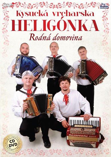neuveden: Kysucká vrchárská heligonka - Rodná domovina - CD + DVD