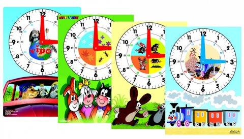 neuveden: Výukové hodiny pro děti A4 - mix druhů