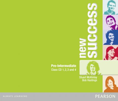 McKinlay Stuart: New Success Pre-Intermediate Class CDs