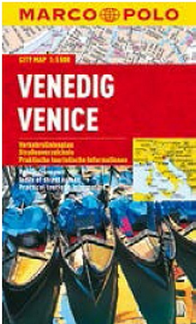neuveden: Venedig/Venice - City Map 1:15000