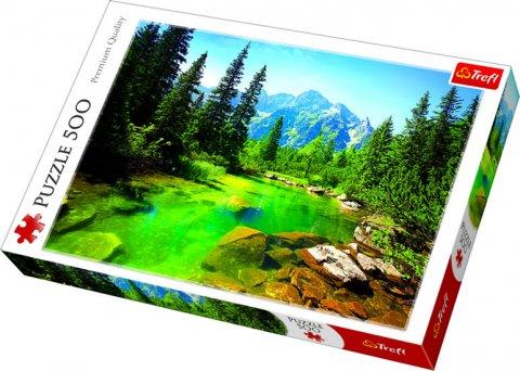 neuveden: Puzzle: Tatry / 500 dílků