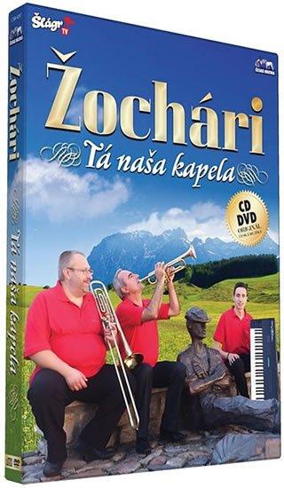 neuveden: Žochári -Tá naša kapela - CD+DVD