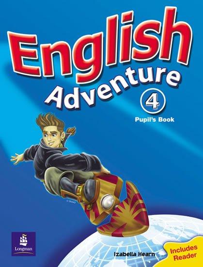 Hearn Izabella: English Adventure 4 Pupil´s Book plus Reader