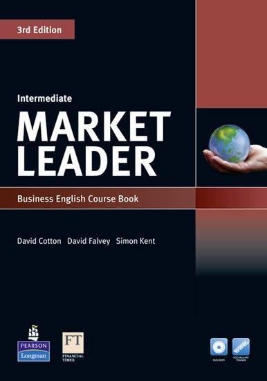 Cotton David: Market Leader 3rd Edition Intermediate Coursebook w/ DVD-ROM/ MyEnglishLab