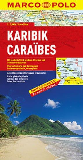 neuveden: Karibik / mapa