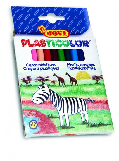 neuveden: JOVI plasticolor kulaté 12 ks