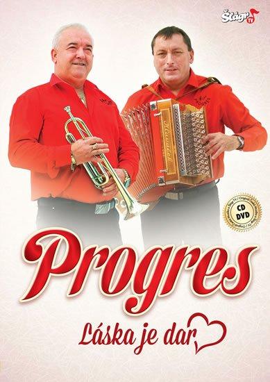 neuveden: Progres - Láska je dar - CD + DVD