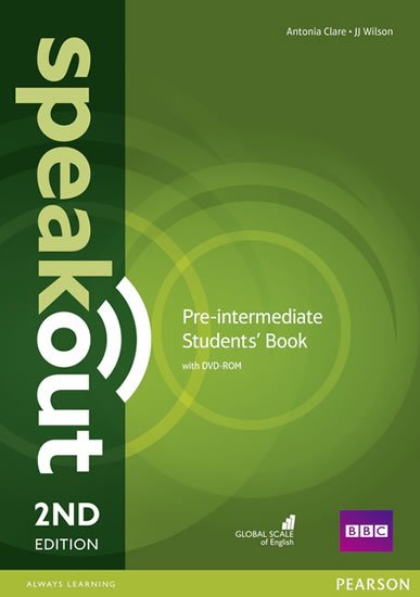 Clare Antonia: Speakout 2nd Edition Pre-Intermediate Students´ Book w/ DVD-ROM Pack