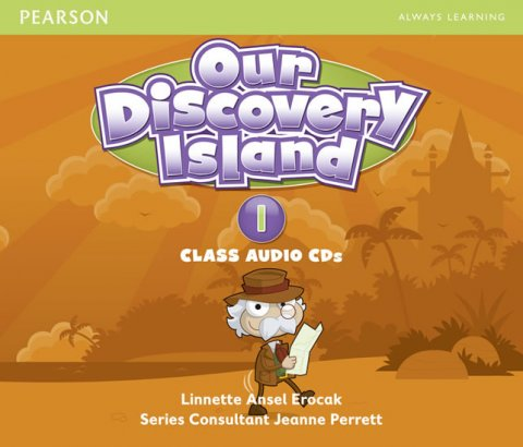 Erocak Linnette: Our Discovery Island 1 Audio CD