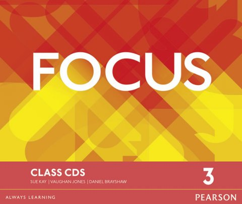 Jones Vaughan: Focus 3 Class CDs