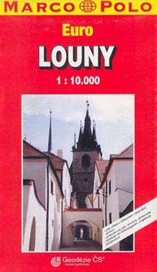 neuveden: Louny/plán s rejstříkem  GCS 1:10T