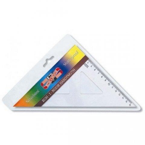 neuveden: Koh-i-noor trojúhelník s kolmicí transparentní nelámavý