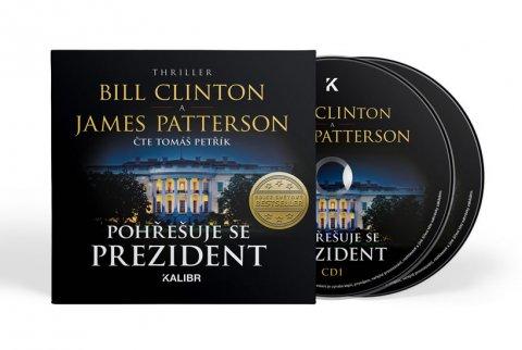 Clinton Bill, Patterson James: Pohřešuje se prezident - audioknihovna