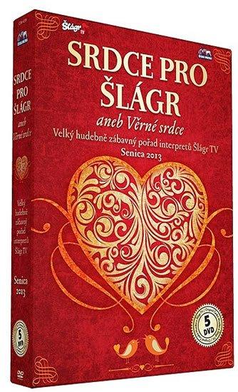 neuveden: Senica - Srdce pro Šlágr - 5 DVD