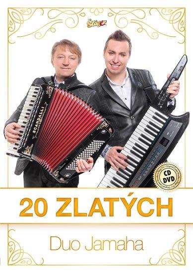 neuveden: Duo Jamaha - 20 zlatých - CD + DVD