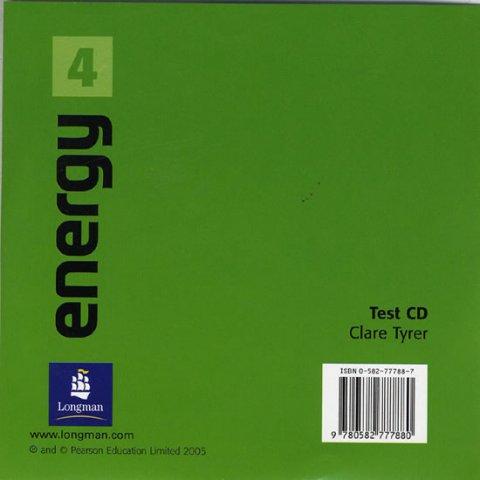 Elsworth Steve: Energy 4 Test CD