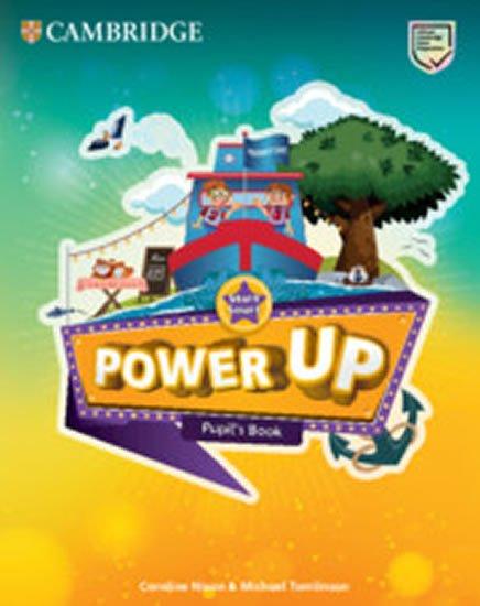Nixon Caroline: Power Up Start Smart Pupil´s Book