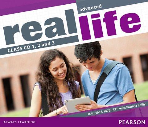 Roberts Rachael: Real Life Global Advanced Class CDs 1-3