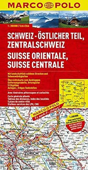 neuveden: Švýcarsko 2 - východ/mapa