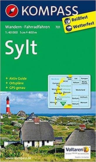 neuveden: Insel Sylt mit Ortsplänen  701   NKOM