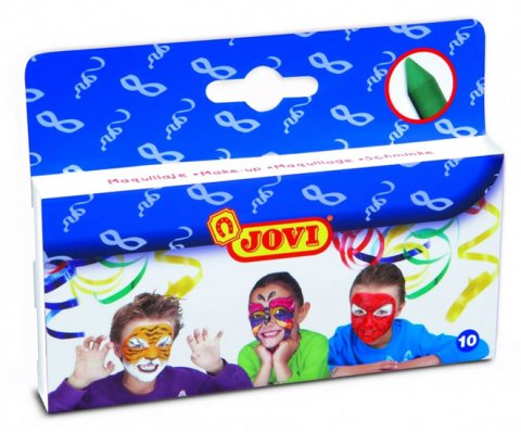 neuveden: JOVI obličejové barvy 10 ks x 3,6g