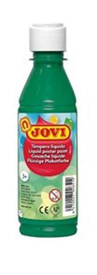 neuveden: JOVI temperová barva 250ml v lahvi tmavě zelená