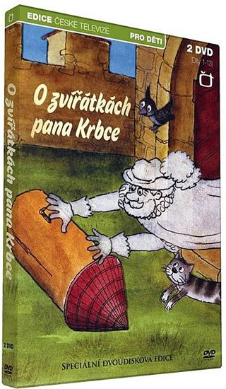 neuveden: O zvířátkách pana Krbce - 2 DVD