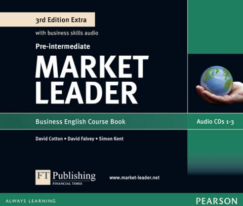 Walsh Clare: Market Leader 3rd Edition Extra Pre-Intermediate Class Audio CD
