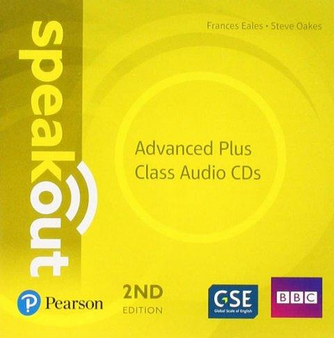 Eales Frances, Oakes Steve: Speakout Advanced Plus Class CDs, 2nd Edition