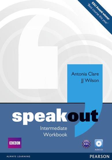 Clare Antonia: Speakout Intermediate Workbook w/ Audio CD Pack (no key)