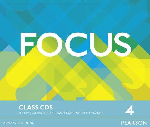 Jones Vaughan: Focus 4 Class CDs