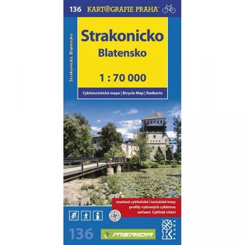 neuveden: 1: 70T(136)-Strakonicko,Blatensko (cyklomapa)